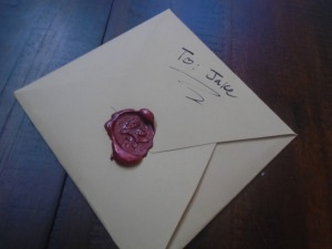 Wax Sealed Letter